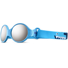 Julbo Loop S Spectron 4 Sunglasses Kids, blue turquoise/light blue/grey flash silver